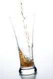 Glas met kola Royalty-vrije Stock Foto's