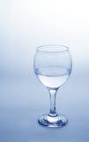 Glas met water royalty-vrije stock afbeelding