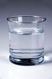 Glas met Water Royalty-vrije Stock Fotografie
