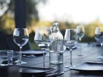 Glas met water Royalty-vrije Stock Foto