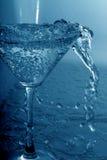 Glas met water stock foto's
