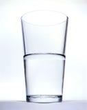 Glas met water Stock Afbeelding
