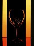 Glas met zwaan Royalty-vrije Stock Fotografie