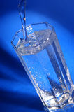Glas of mineral water Stock Photo