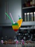 Glas mit einem Cocktail Stockfotografie
