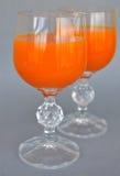 Glas mit Getränk Lizenzfreie Stockfotografie