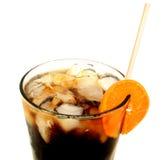 Glas mit Soda Stockbild