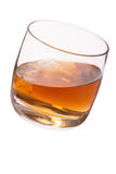 Glas mit Whisky Lizenzfreies Stockbild