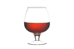 Glas mit Whisky Stockbilder