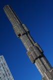 Glas obelisk sculpture and sky Stock Image