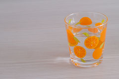 Glas op Lijst Stock Afbeeldingen