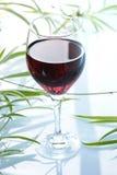 Glas redwine Lizenzfreies Stockfoto