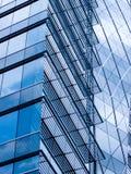 Glas reflektiert Lizenzfreies Stockfoto