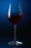 Glas Rotwein Lizenzfreie Stockfotografie