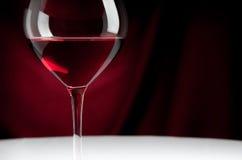 Glas Rotwein Stockfotografie