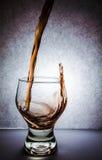 Glas Rotwein. Lizenzfreie Stockfotografie