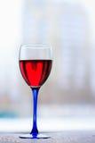 Glas Rotwein Lizenzfreies Stockbild