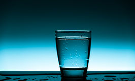 Glas sauberes Trinkwasser Lizenzfreies Stockfoto
