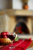Glas Sauvignon-Wein Stockbilder