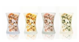 Glas Shells Lizenzfreie Stockbilder