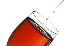 Glas sherry stock fotografie