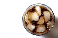 Glas soda royalty-vrije stock afbeelding