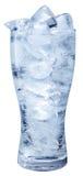 Glas soda met ijs. stock fotografie