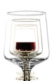Glas sof red wine Stock Photos