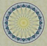 Glas- sol i ljusa färger stock illustrationer