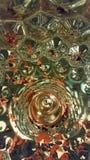 Glas-Strudel Lizenzfreie Stockfotos