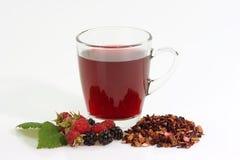 Glas Tee Stockbild