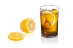Glas Tee Lizenzfreie Stockbilder