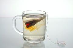 Glas Tee Lizenzfreies Stockfoto
