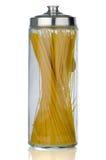 Glas Teigwaren Stockbild