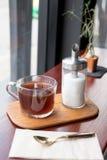 Glas thee Royalty-vrije Stock Afbeeldingen