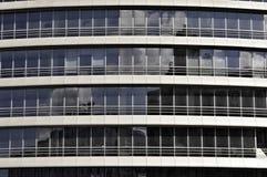 Glas und Beton Lizenzfreies Stockfoto