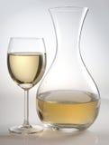Glas und Carafe Lizenzfreie Stockbilder