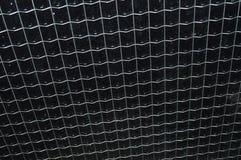 Glas- und Drahthintergrund Stockbilder
