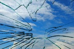 Glas und Himmel Lizenzfreie Stockfotos