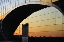 Glas und metall Lizenzfreies Stockbild