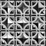Glas und Metall Stockfotografie