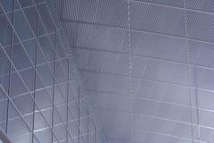 Glas- und Metalldach Lizenzfreies Stockfoto
