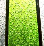 Glas und Sonne Colorated in Fenster und in Licht Marokkos Afrika Lizenzfreies Stockbild