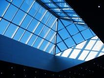 Glas und Stahl Stockfoto