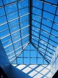 Glas und Stahl Stockfotografie