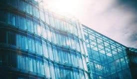 Glas und Stahl Lizenzfreie Stockbilder