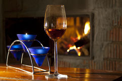 Glas van alcohol Royalty-vrije Stock Afbeelding
