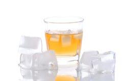 Glas van alcoholische drank Royalty-vrije Stock Afbeelding