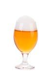 Glas van bier dichte omhooggaand Stock Foto's