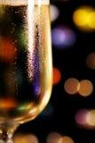 Glas van Champagne stock foto's